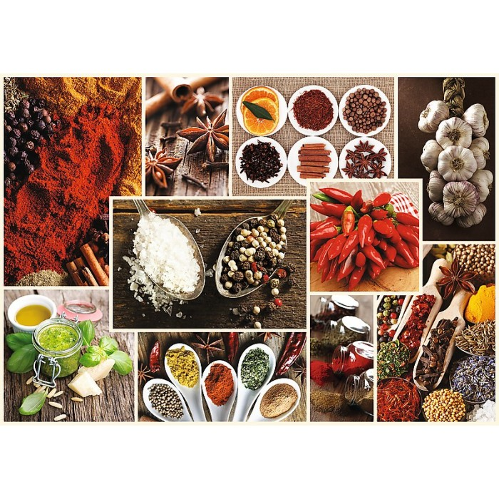 Collage - Spices Puzzle 1000 pieces
