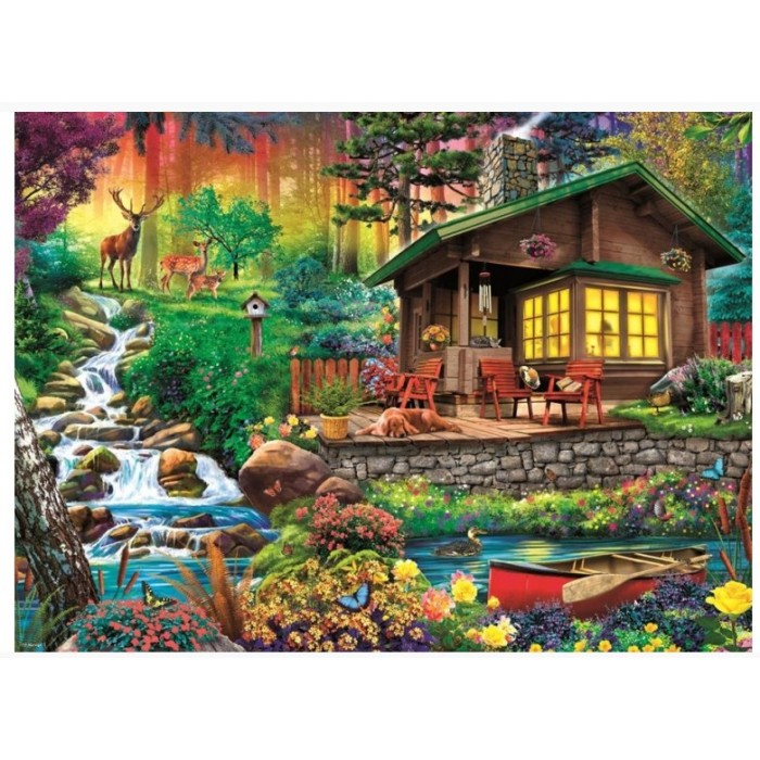 Cottage in the Forest Puzzle 3000 pieces