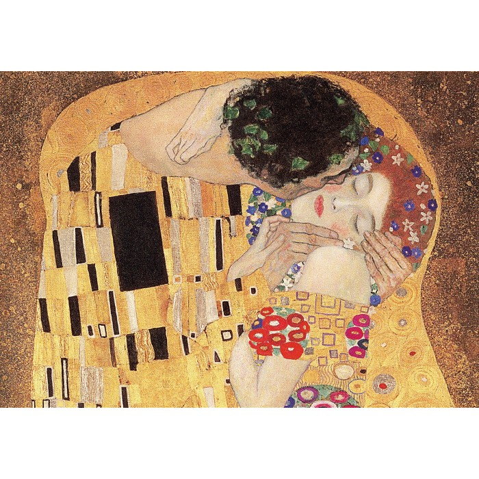 Gustav Klimt - The Kiss Puzzle 1000 pieces
