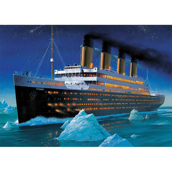 Jigsaw Puzzle - 1000 Pieces - Titanic 1000 pieces