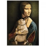 Puzzle   Lady with a Cat