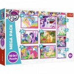 Mega Pack 10 Puzzles - My Little Poney