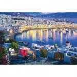 Puzzle   Mykonos at Sunset