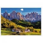 Puzzle   Val di Funes Valley, Dolomites, Italy