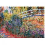 Wentworth-1210 Wooden Jigsaw Puzzle - Claude Monet: Le Pont Japonais
