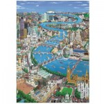 Wentworth-4202 Wooden Puzzle - London - The Thames