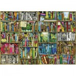 Wentworth-441613 Wooden Jigsaw Puzzle -  Colin Thompson: Bookshelf