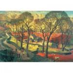 Wentworth-621504 Wooden Jigsaw Puzzle - James McIntosh Patrick: Springtime in Eskdale