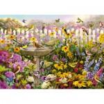 Wentworth-661706 Wooden Jigsaw Puzzle - Greg Giordano : Bird Bath Bonanza