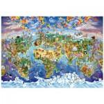 Wentworth-702513 Wooden Puzzle - World Wonders