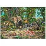 Wentworth-751906 Wooden Puzzle - African Experience