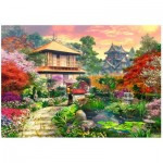Wentworth-762205 Wooden Puzzle - Japanese Garden