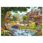 Wentworth-780308 Wooden Puzzle - Full Stream Ahead