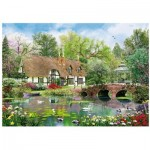 Wentworth-780408 Wooden Puzzle - April Cottage