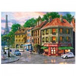 Wentworth-791605 Wooden Puzzle - Dominic Davison - Paris Streets