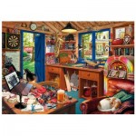 Wentworth-791902 Wooden Puzzle - Man Cave
