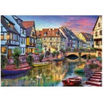 Wentworth-792002 Wooden Puzzle - Colmar Canal