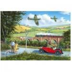 Wentworth-801209 Wooden Puzzle - Spitfires