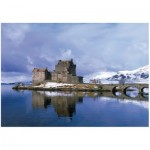 Wentworth-812705 Wooden Puzzle - Eilean Donan Castle