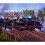 Wentworth-821809 Wooden Puzzle - Severn Valley Railway 50th Anniversary