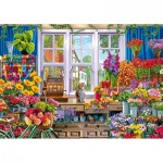 Wentworth-831208 Wooden Puzzle - Flower Shop
