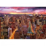 Wentworth-831705 Wooden Puzzle - Manhattan Skyline