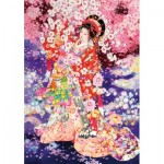 Wentworth-840713 Wooden Puzzle - Haruyo Morita - Hanafubuki