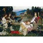 Wentworth-840904 Wooden Puzzle - John William Waterhouse - Saint Cecilia