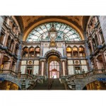 Wentworth-842005 Wooden Puzzle - Antwerpen-Centraal Railway Station, Belgium