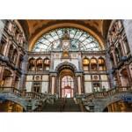 Wooden Puzzle - Antwerpen-Centraal Railway Station, Belgium