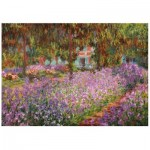 Wooden Puzzle - Claude Monet - The artist's garden in Giverny