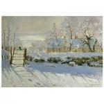 Wooden Puzzle - Claude Monet - The Magpie