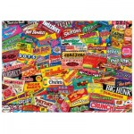 Wooden Puzzle - Crazy Candy
