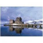 Wooden Puzzle - Eilean Donan Castle