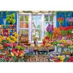 Wooden Puzzle - Flower Shop