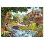 Wooden Puzzle - Full Stream Ahead