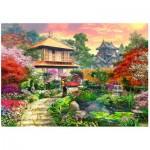 Wooden Puzzle - Japanese Garden