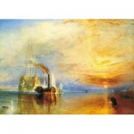 Wooden Puzzle - Joseph Mallord William Turner - The Fighting Temeraire