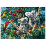 Wooden Puzzle - Koala Outback