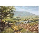 Wooden Puzzle - Pendle in May