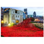 Wooden Puzzle - Tower of London Remembrance