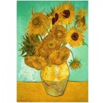 Wooden Puzzle - Van Gogh - Sunflowers