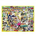 White-Mountain-196 Jigsaw Puzzle - 1000 Pieces - Fifties Celebrities