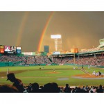 White-Mountain-322 Jigsaw Puzzle - 550 Pieces - Rainbow over Fenway Park, Boston, USA