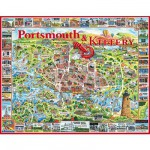White-Mountain-363 Jigsaw Puzzle - 1000 Pieces - Portsmouth, New Hampshire, USA
