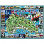 White-Mountain-468 Jigsaw Puzzle - 1000 Pieces - Mackinac Island, Michigan, USA