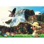 Puzzle   Super Mario Odyssey - Fossil Falls