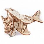 3D Wooden Jigsaw Puzzle - Biplane