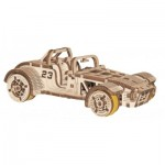 3D Wooden Jigsaw Puzzle - Roadster