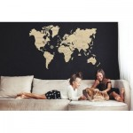 Wooden-City-WM505-8220 Wooden Puzzle - World Map XXL